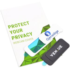 Promo Webcam Covers Promote your Company Logo