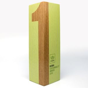 Promotional Wood Awards Printed in Full Colour