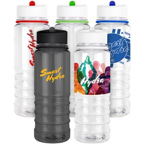Personalised Flip Top Sports Bottles in a Choice of Colours