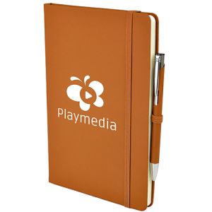 Corporate Branded Soft Touch Notebooks Promotional Merchandise
