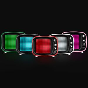 Pixel Art Branded Bluetooth Speakers as Promotional Business Gifts