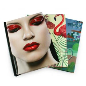 Custom Branded Full Colour Wrap Journal Notebooks