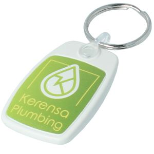PromotionalRecycled Plastic Keyrings Eco-Friendly Giveaways