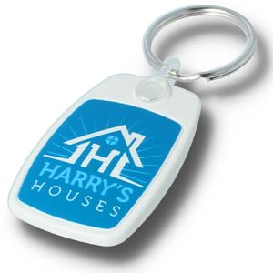 Branded Eco Keyrings Printed with Your Company Logo