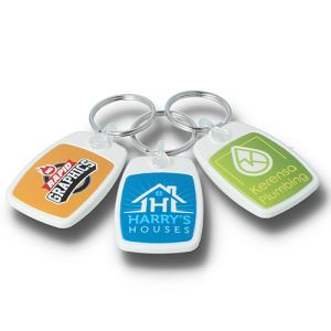Corporate Branded Recycled Keyrings and Keyfobs with your Logo