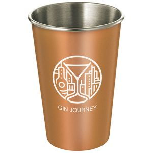 Corporate Branded Reusable Metal Cups for the Food Industry