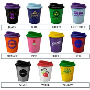 Promotional Coffee Cups in a Choice of Colours