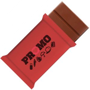 Branded 50g Swiss Milk Chocolate Bars