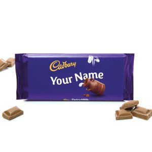 Custom Printed Dairy Milk Bars 110g with your Logo