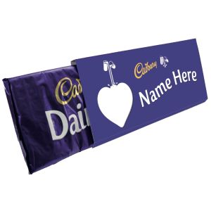 Custom Printed Dairy Milk Bars for Business Gifts