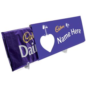 Custom Printed Dairy Milk Bars 850g with your Company Logo