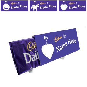Corporate Branded Cadbury's Dairy Milk Chocolate Bars