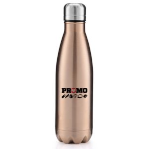 Branded 500ml Metal Bottles Engraved or Printed