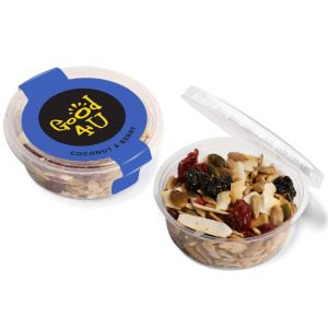 Coconut & Berry Corporate Branded Snacks for Business