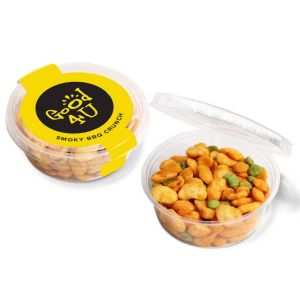 Smoky BBQ Crunch Promotional Printed Snacks for Marketing Campaigns