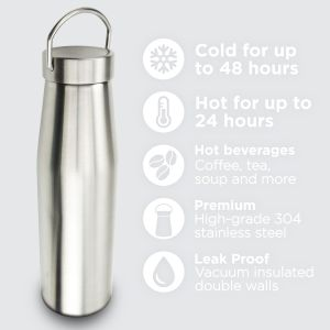 Corporate Branded Insulated Flasks Printed with Your Logo