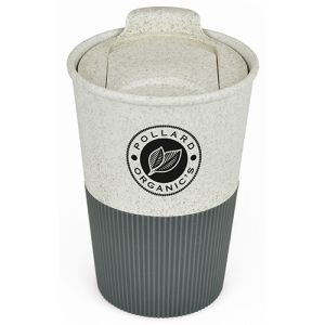 Custom branded Reusable Eco Coffee Cup for Promotions