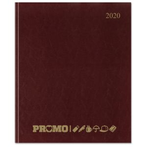 Burgundy Corporate Branded Diaries at Great Value Prices
