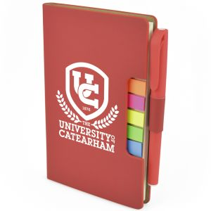 3 in 1 A6 Notebook Sets in Red