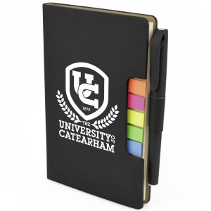 3 in 1 A6 Notebook Sets in Black
