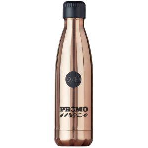Branded W10 Kensington Water Bottles in Copper Gold
