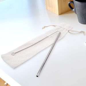 Corporate Stainless Steel Straws Engraved with your Logo