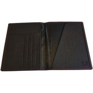 RFID Protected PU Passport Holders open