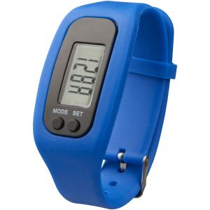 Branded Pedometer Activity Watches in Blue