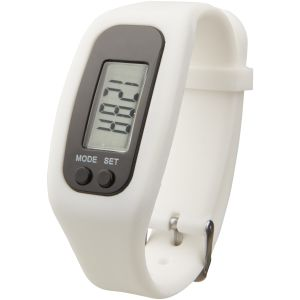 Promotional Pedometer Activity Watch in White