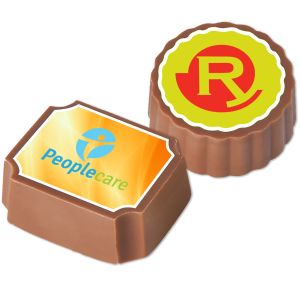 Logo Printed Chocolates as Promotional Giveaways