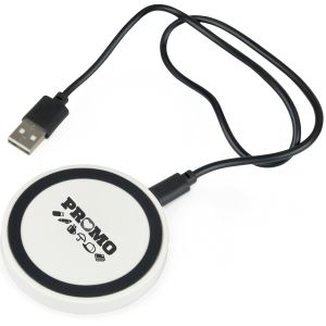 Custom Branded Wireless Charging Pad for Desktop Marketing Gifts