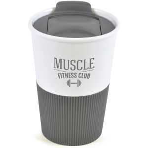 330ml Duo Colour Grippy Tumblers in Grey