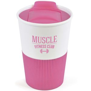 330ml Duo Colour Grippy Tumblers in Pink
