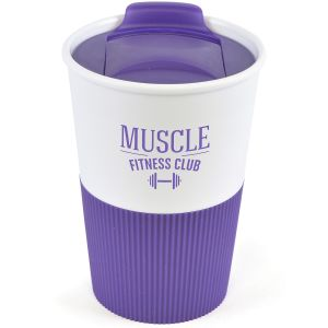 330ml Duo Colour Grippy Tumblers in Purple
