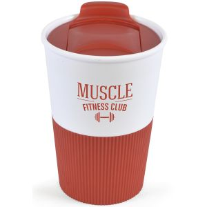 330ml Duo Colour Grippy Tumblers in Red
