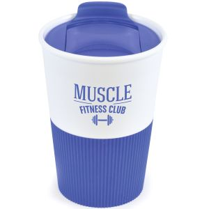 330ml Duo Colour Grippy Tumblers in Reflex Blue