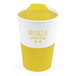 330ml Duo Colour Grippy Tumblers in Yellow