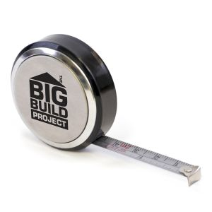 Branded Metal Tape Measure for Marketing Campaign Merchandise