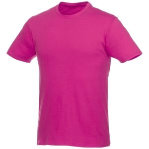 Short Sleeve Unisex T Shirt in Pink