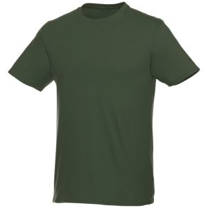 Short Sleeve Unisex T Shirt in Army Green