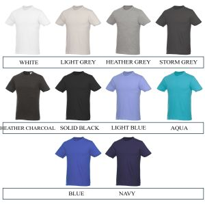 Promotional Tee Shirt Colours 1