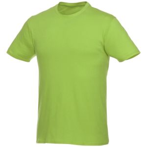 Short Sleeve Unisex T Shirt in Apple Green