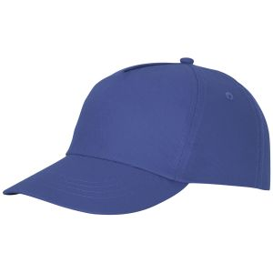 Feniks 5 Panel Cotton Cap in Blue