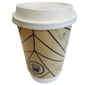 Branded 12oz Biodegradable Coffee Cups UK Prices