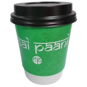 Corporate Branded Biodegradable Paper Cups Marketing Giveaways