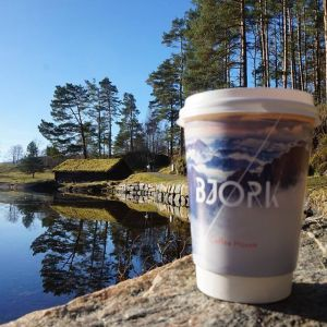 Promotional Biodegradable Paper Coffee Cups Branded Giveaways
