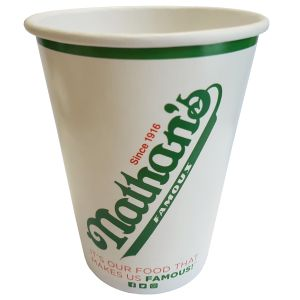 Branded12oz Biodegradable Paper Cups with your Logo
