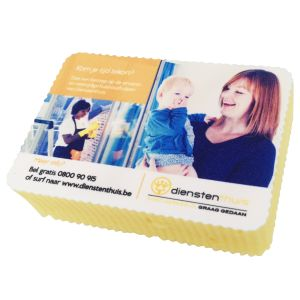 Promotional Printed Sponges for Business and Exhibitions