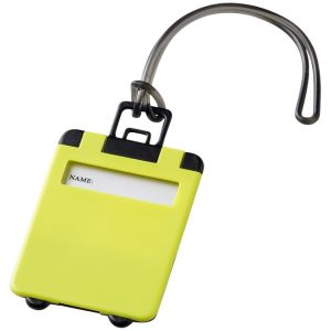 Taggy Luggage Tags in Lime