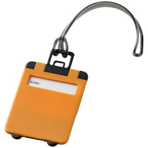 Taggy Luggage Tags in Orange